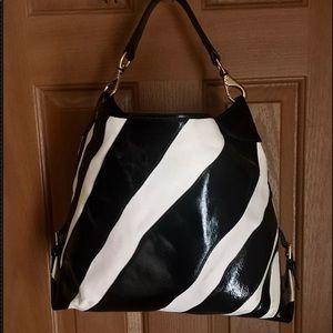 Dooney   Bourke Bags   Dooney Bourke Unique Zebra Print Shoulder Bag ... a08fe30377